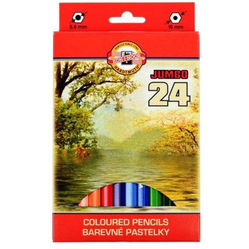 Sada pastelek KOH-I-NOOR OK krajina 24 odstínů