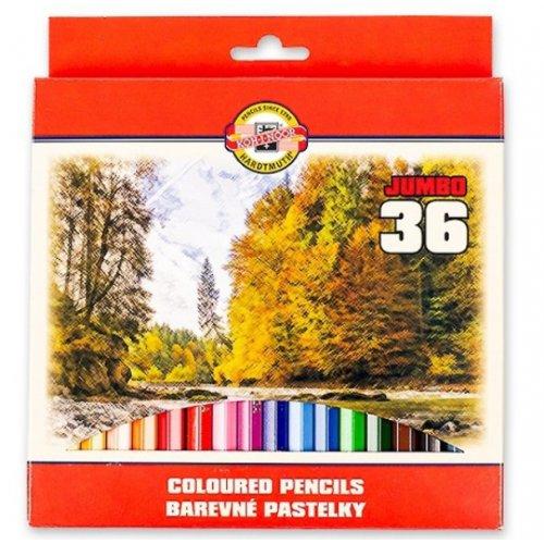 Sada pastelek KOH-I-NOOR OK krajina 36 odstínů