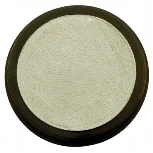 Barva na obličej 35 ml Perleťová Stříbrná