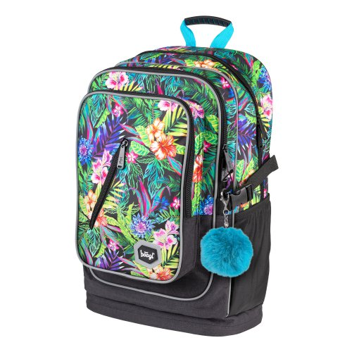 Školní batoh Cubic Tropical BAAGL - skolni-batoh-cubic-tropical-A-7212_2.jpg