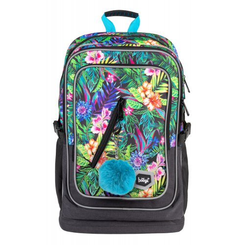 Školní batoh Cubic Tropical BAAGL