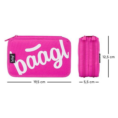 Školní penál dvoupatrový Logo BAAGL růžový - skolni-penal-dvoupatrovy-logo-ruzovy-A-7731_4.jpg