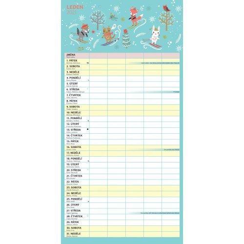 Rodinný plánovací kalendář 2021, 30 × 30 cm - rodinny-planovaci-kalendar-2021-30-x-30-cm-PGP-7884_3.jpg