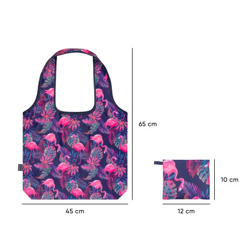 Skládací nákupní taška Plameňáci - skladaci-nakupni-taska-plamenaci-A-7483_3.jpg