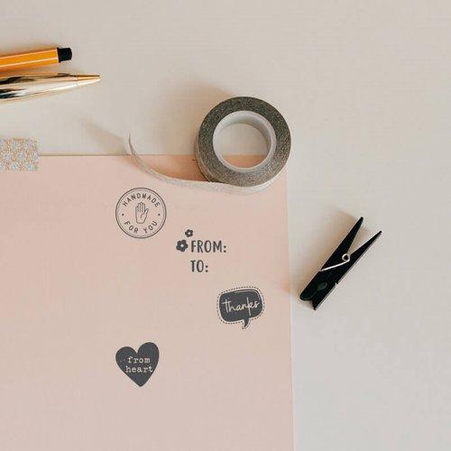 Sada kreativních razítek Little NIO VÁNOCE - 10 ks motivů - Little NIO_Img13.jpg