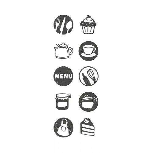 Sada kreativních razítek Little NIO KUCHYNĚ - 10 ks motivů - Sada_razitek_kitchen_mot.jpg