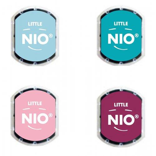 Barevné polštářky pro razítka Little NIO PASTEL 4 barvy - Pastel_polstarky_bar.jpg