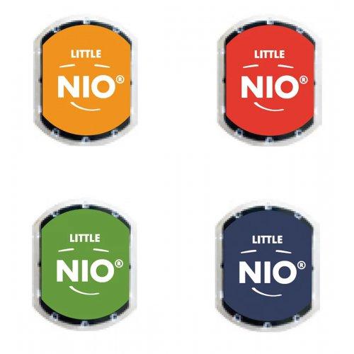 Barevné polštářky pro razítka Little NIO KLASIK 4 barvy - Classic_polstarky_bar.jpg