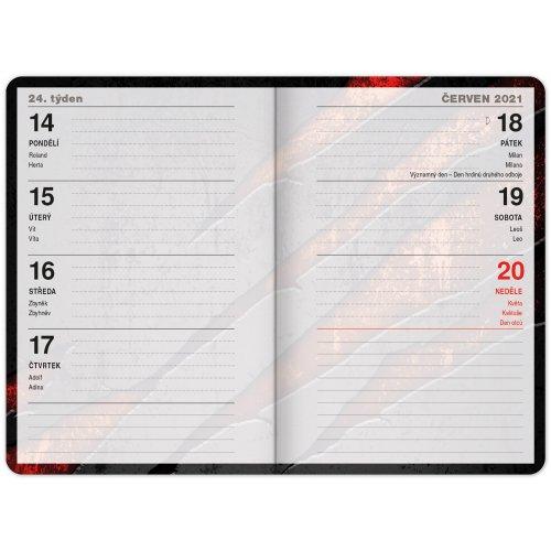 Školní diář Láva (září 2020 – prosinec 2021) 9,8 × 14,5 cm - SKOLNI-DIAR-LAVA-PGD-8129_2.JPG