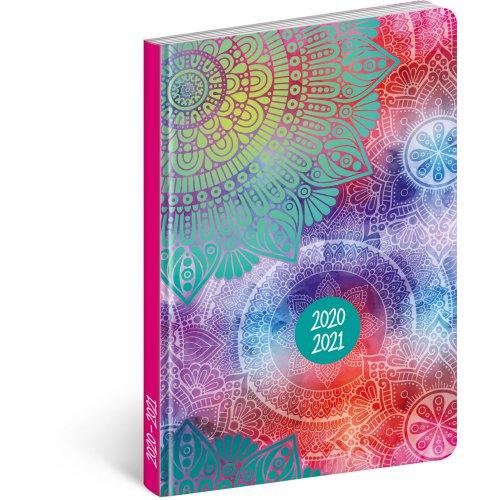 Diář 18 měsíční Petito – Mandala 2020/2021 11 × 17 cm