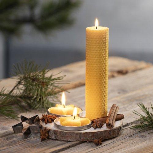 Držák na svíčku přírodní k dotvoření 14-16 cm - 56563_5_img.jpg