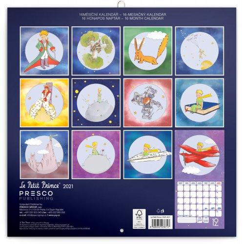 Poznámkový kalendář Malý princ 2021, 30 × 30 cm - poznamkovy-kalendar-maly-princ-2021-PGP-7871_5.jpg