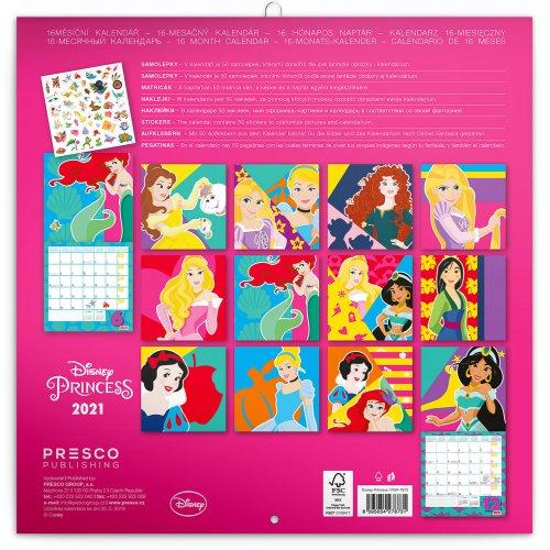 Poznámkový kalendář Princezny 2021, s 50 samolepkami, 30 × 30 cm - poznamkovy-kalendar-princezny-2021-s-50-samolepkami-7.jpg