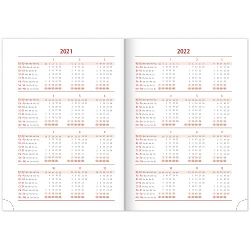 Týdenní diář Cambio Fun 2021, Lapač snů, 15 × 21 cm - tydenni-diar-cambio-fun-2021-lapac-snu-3.jpg