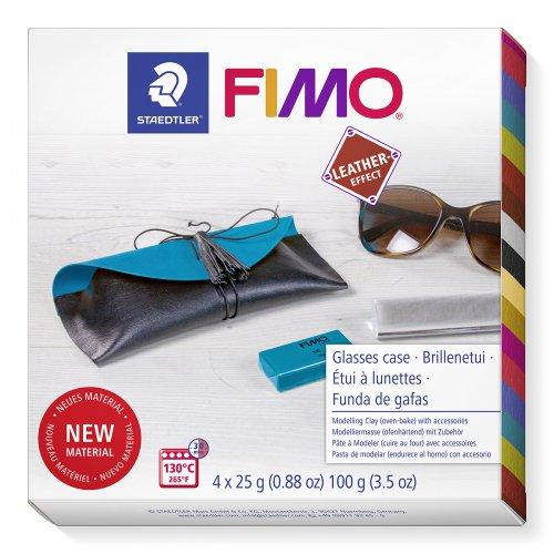 FIMO Leather Sada DIY POUZDRO na brýle