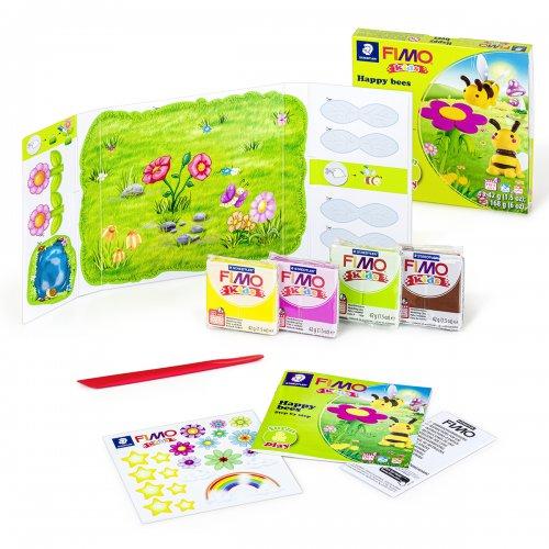 Sada Fimo kids Form & Play ŠŤASTNÉ VČELKY - 8034_27_LZ_obsah.png