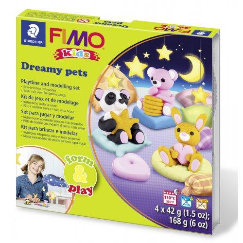 Sada Fimo kids Form & Play ZASNĚNÍ PEJSCI