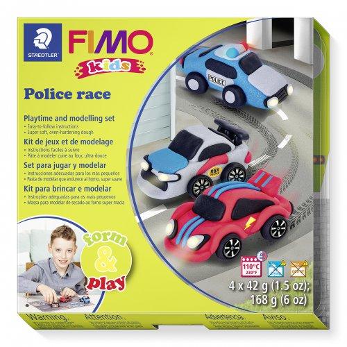 Sada Fimo kids Form & Play POLICEJNÍ AUTO