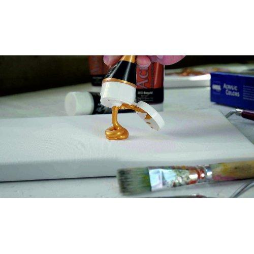 EL GRECO Akrylové barvy METALICKÉ sada 4 barev 75 ml - CK28270_KREUL_elGrecoAcrylic_Metallic.jpg