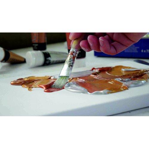 EL GRECO Akrylové barvy METALICKÉ sada 4 barev 75 ml - CK28270_KREUL_elGrecoAcrylic_Metallic_2.jpg
