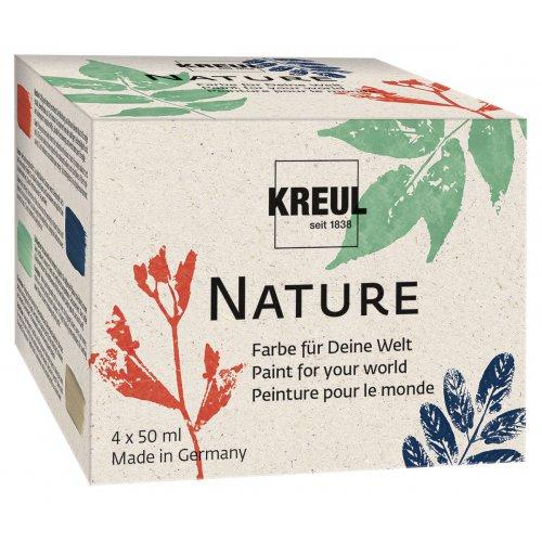 Sada přírodní barvy KREUL NATURE 50 ml 4 odstíny