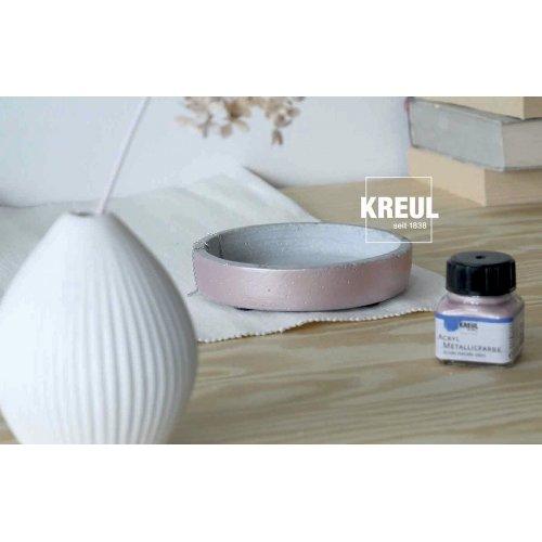 Akrylová barva metalická KREUL 20 ml RŮŽOVOZLATÁ - KREUL_AcrylMetallicfarbe_Rosegold_4.jpg