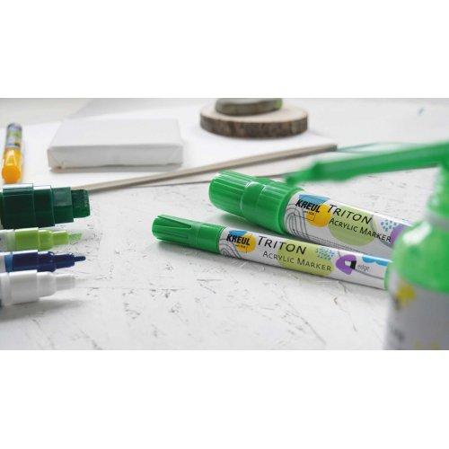 Akrylový fix TRITON KREUL medium BÍLÁ - KREUL_TritonAcrylicMarker_9.jpg