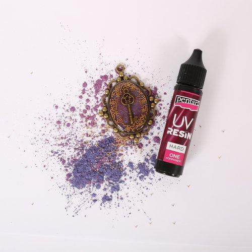 UV pryskyřice HARD PENTART 20 ml - UV Resin Hard with pendant.jpg