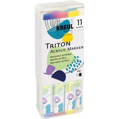 Sada akrylový fix TRITON KREUL edge POWERPACK