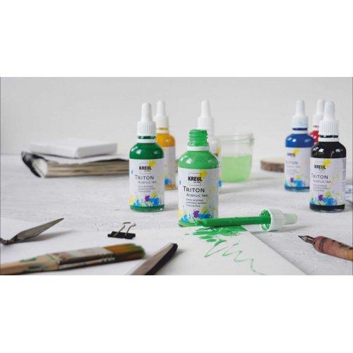 Sada akrylový inkoust TRITON KREUL 4 barvy ELEGANT ART - KREUL_TritonAcrylicInk_06_image.jpg