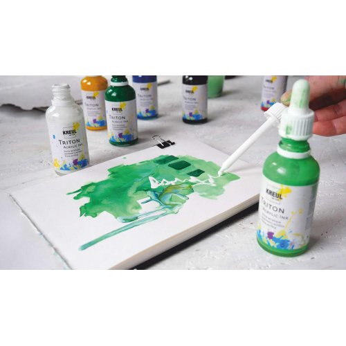 Sada akrylový inkoust TRITON KREUL 4 barvy ELEGANT ART - KREUL_TritonAcrylicInk_12_image.jpg