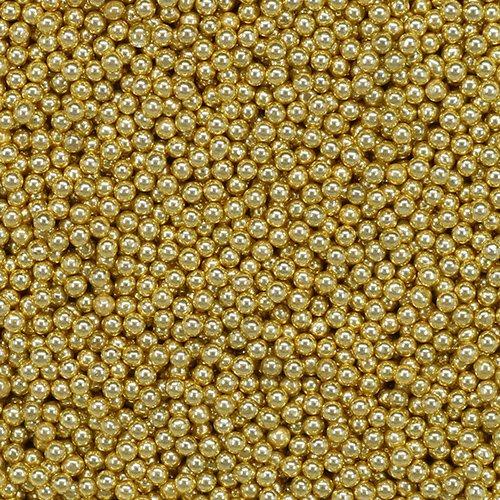 Korálky skleněné MICROBEADS PENTART ZLATÁ - PE38977_barva.jpg