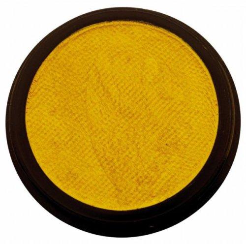 Barva na obličej 12 ml Perleťová Žlutá
