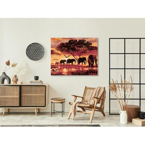 Malování podle čísel - SLONI 50x40 cm plátno na rámu - 1196201.png