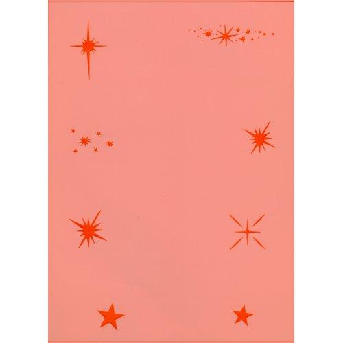 Šablony na airbrush (plast) - Hvězdy