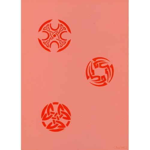 Šablona na airbrush plastová  - Keltské symboly