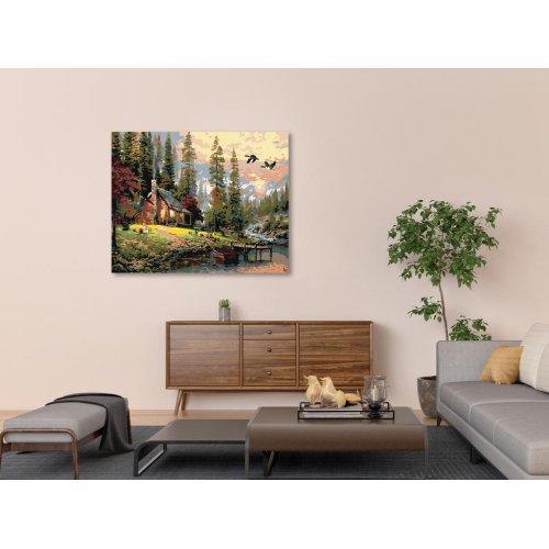 Malování podle čísel - NOVÝ SRUB 50x40 cm plátno na rámu - 1989231_2.png