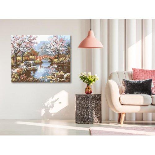 Malování podle čísel - JAPONSKÁ ZAHRADA 50x40 cm plátno na rámu - 2513241.png