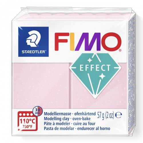 FIMO efekt růžový křemen 57g