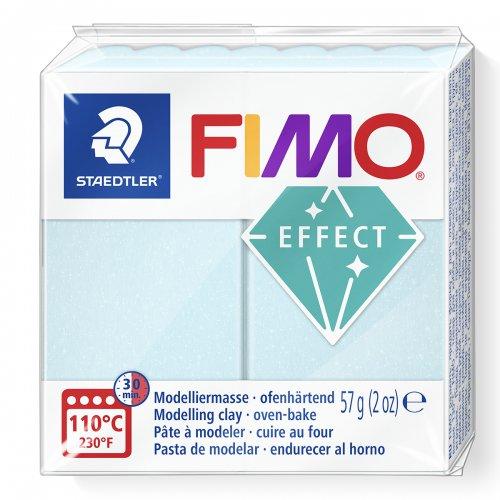 FIMO efekt namodralý křemen 57g