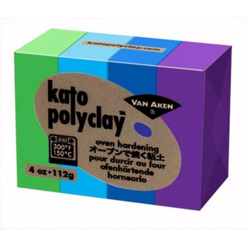 Kato Polyclay - Sada 4 barev - Cool