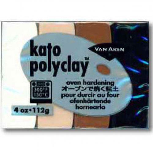 Kato Polyclay - Sada 4 barev - Neutral