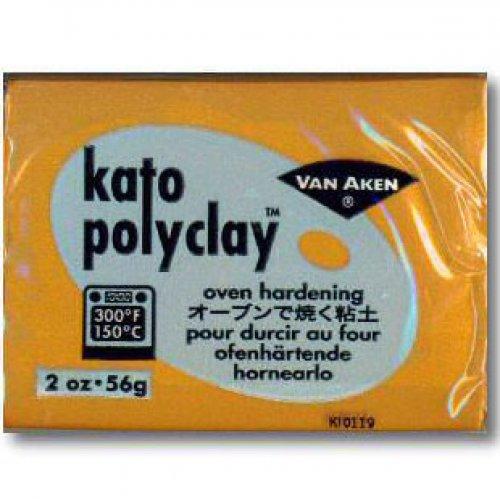 Kato Polyclay 56g - Zlatá