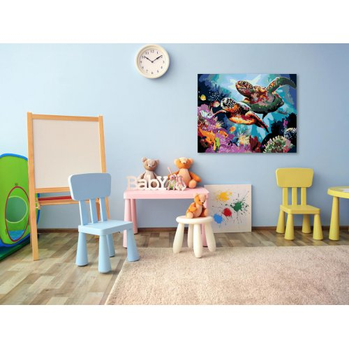 Malování podle čísel - DVĚ KARETY OBROVSKÉ 50x40 cm plátno na rámu - 975241.png