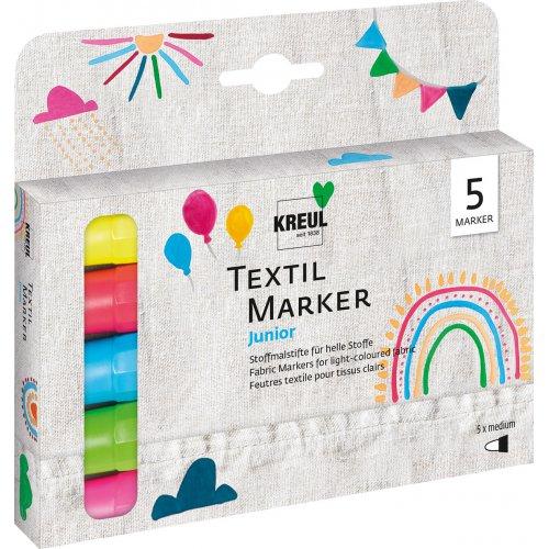 Sada Fix na textil KREUL JUNIOR medium 5 ks