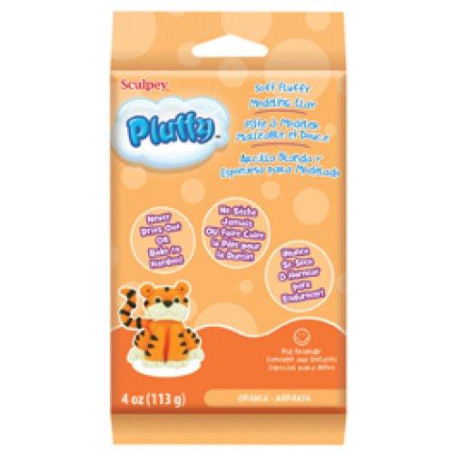 Pluffy hmota - Oranžová 113g
