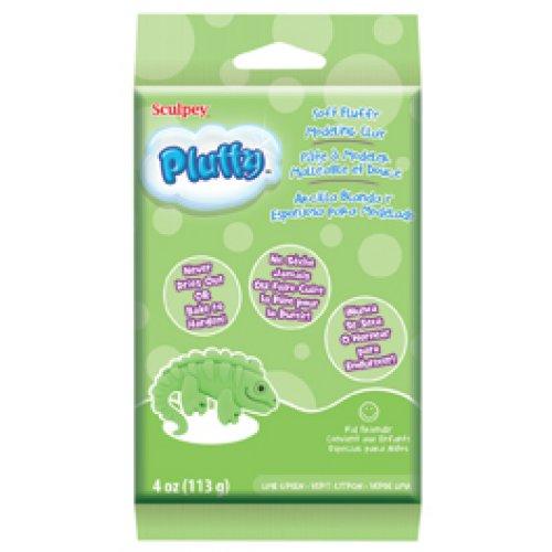 Pluffy hmota - Limetkově zelená 113g