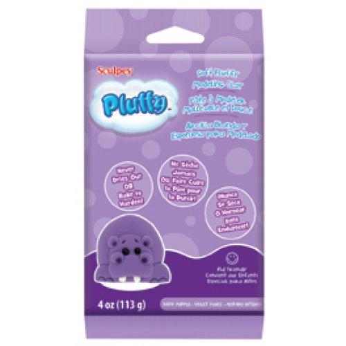 Pluffy hmota - Tmavě fialová 113g