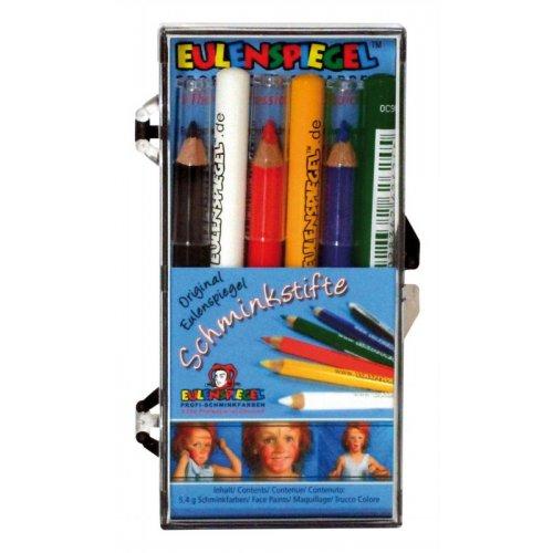 Speciální tužky na obličej 6 barev
