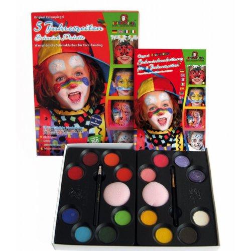 Sada barev na obličej pro děti od 5 let